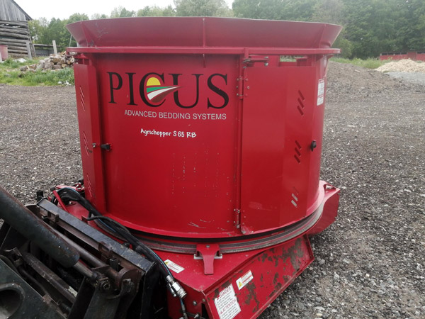 Picus S65RB Used Straw Chopper